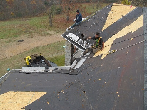 Barnes Roof Safety - roof cleanup