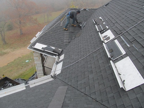 Barnes Roof Safety - Working on a roof