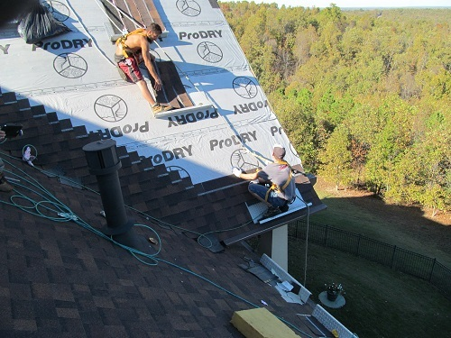 Barnes Roofing roof safety